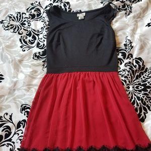 Juniors part dress